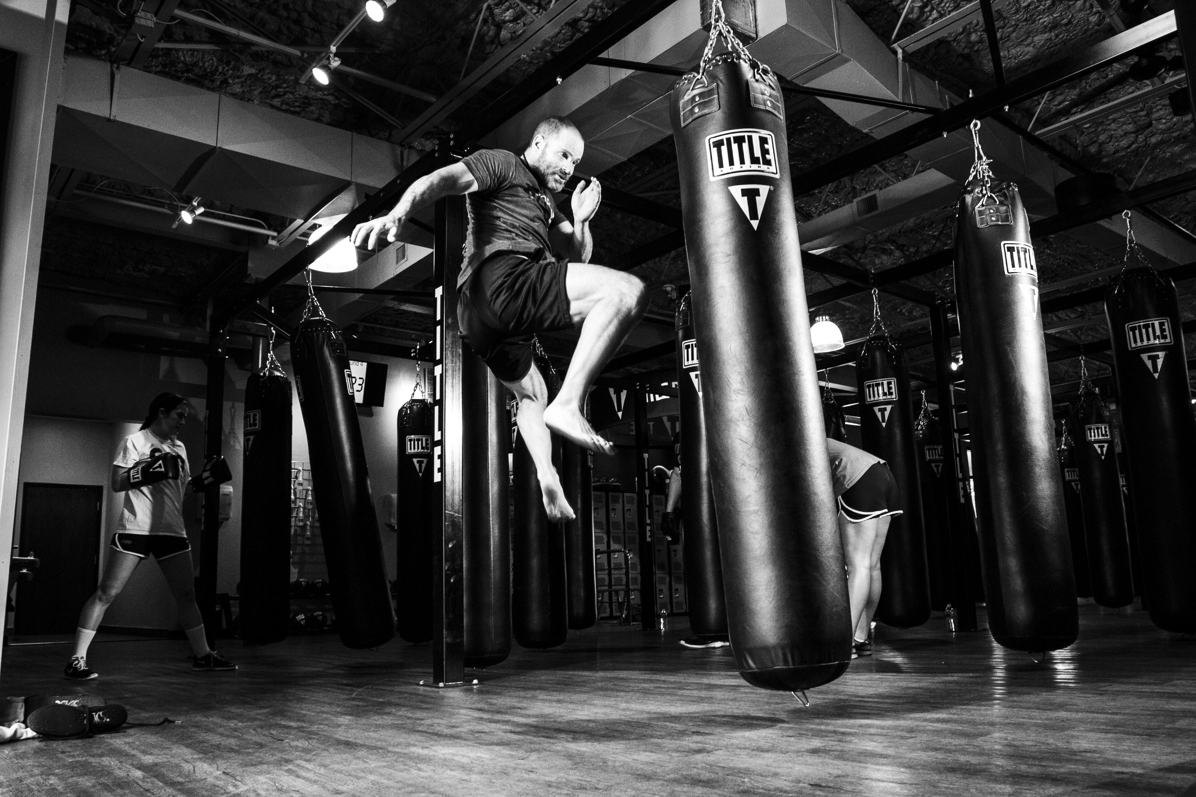 Person utöver kampsport